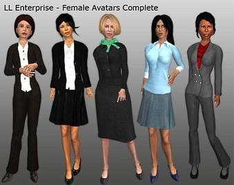 Second Life Enterprise Beta Avatar Nebraska