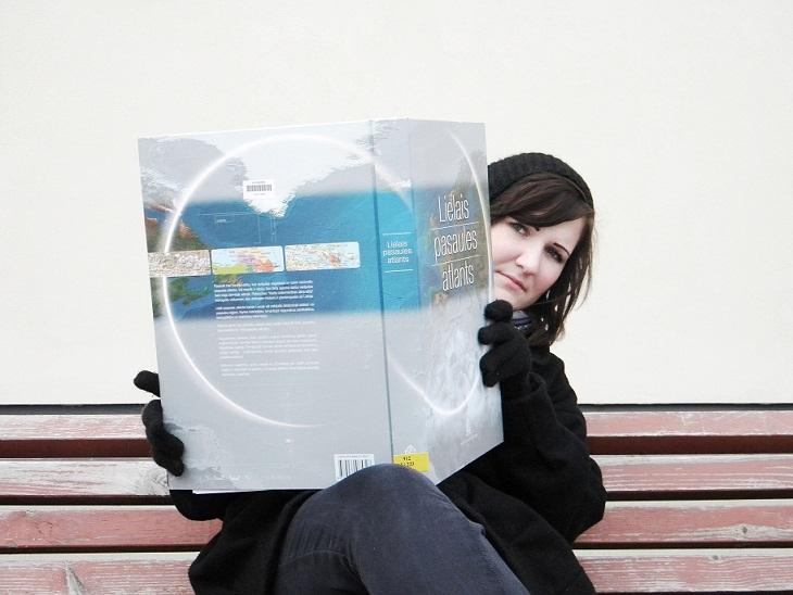 Das ist Anita, journalistik Studentin aus Lettland - eine neue Social Media Praktikantin bei YOUin3D.com GmbH